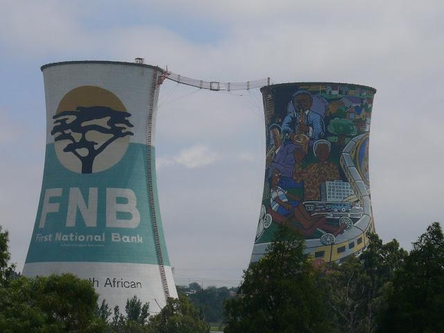 soweto, chimeneas hidroelectrica soweto