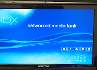 HDX 1000 Welcome Screen