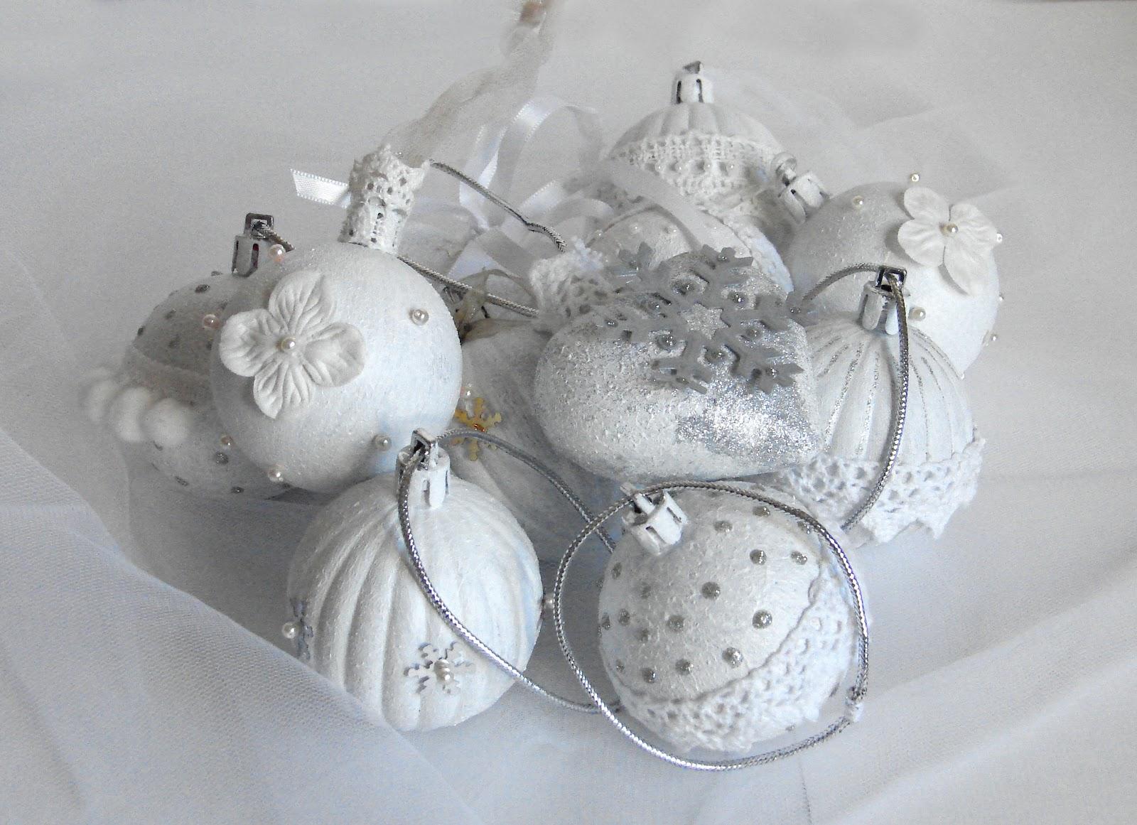 Новогодние шары своими руками скрапбукинг 33