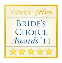 2011 Wedding Wire Bride's Choice Award