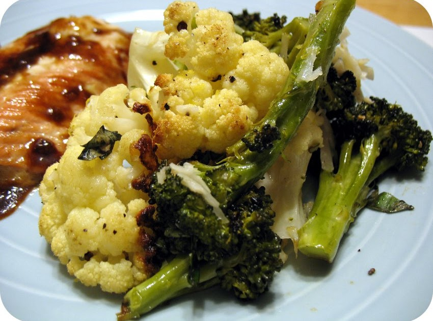 Befoodled Roasted Broccoli And Cauliflower Two Ways