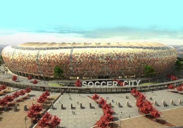 South Africa world cup football stadium : Some Photographs