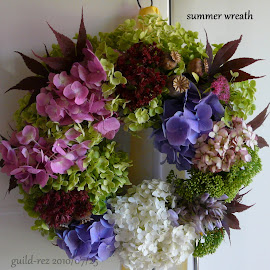 Summer wreath - Sommer Kranz