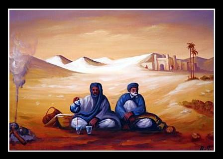CAMPEMENT SAHARIEN