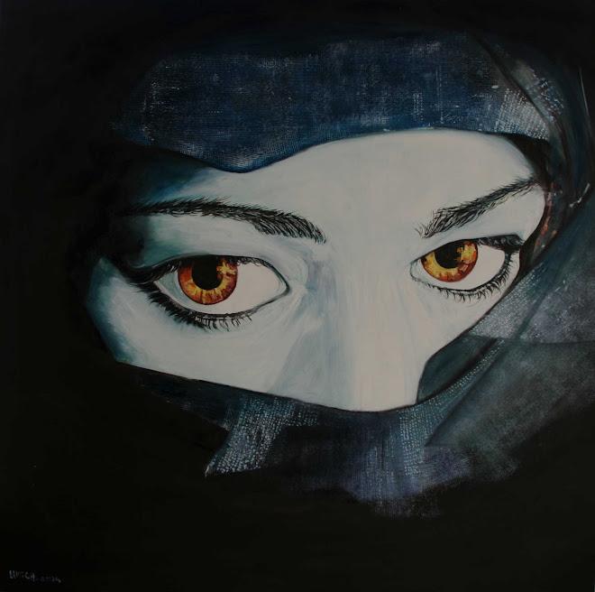 femme en hayik