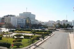Vue de Kénitra Devant Bank el Maghrib