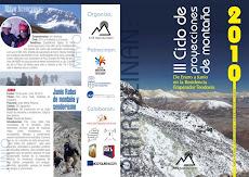 Triptico III Ciclos de Montaña 2010