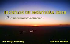 III CICLOS DE MONTAÑA