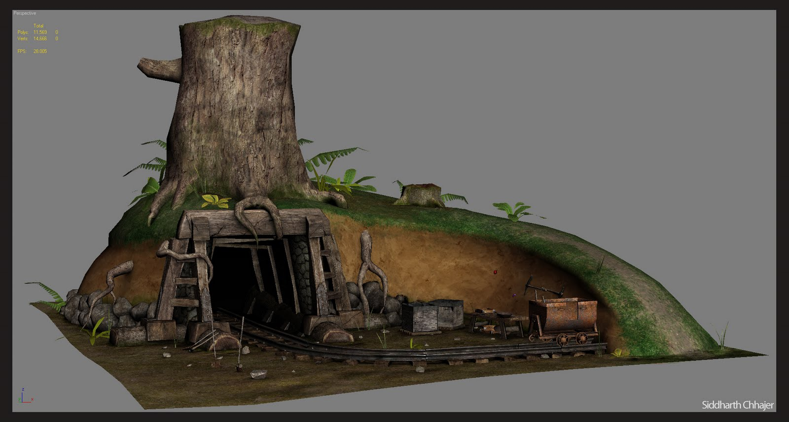 siddharth chhajer  game environment  u0026 props