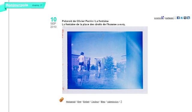 Evry Daily Photo - Polaroid Place des droits de l Homme - Polar du Jour - Site BonjourPolar