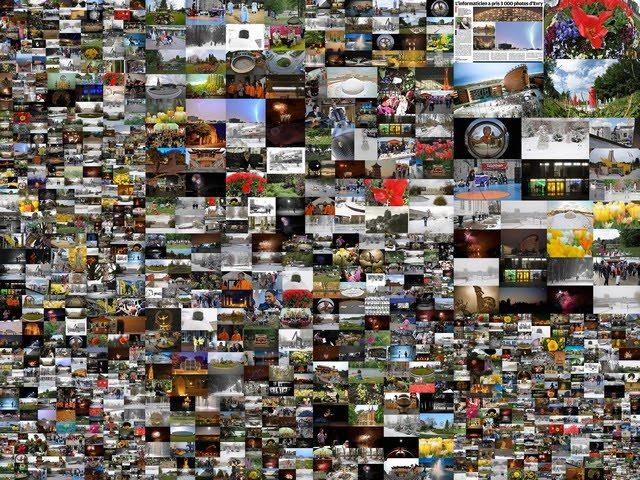 Evry Daily Photo - Poster pour les 4 ans de mon Daily Photo sur Evry