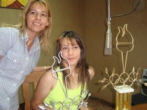 Paola Ramirez premio Municipalidad