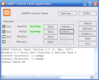how to connect xampp to python