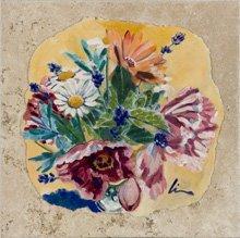 fresco on travertine