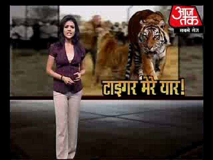 Spicy Newsreaders: Shweta singh of aajtak