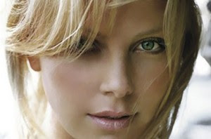 Charlize Theron eye