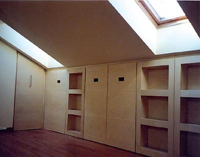 Case d 39 autore mansarda come organizzare lo spazio - I mobili nel guardaroba ...