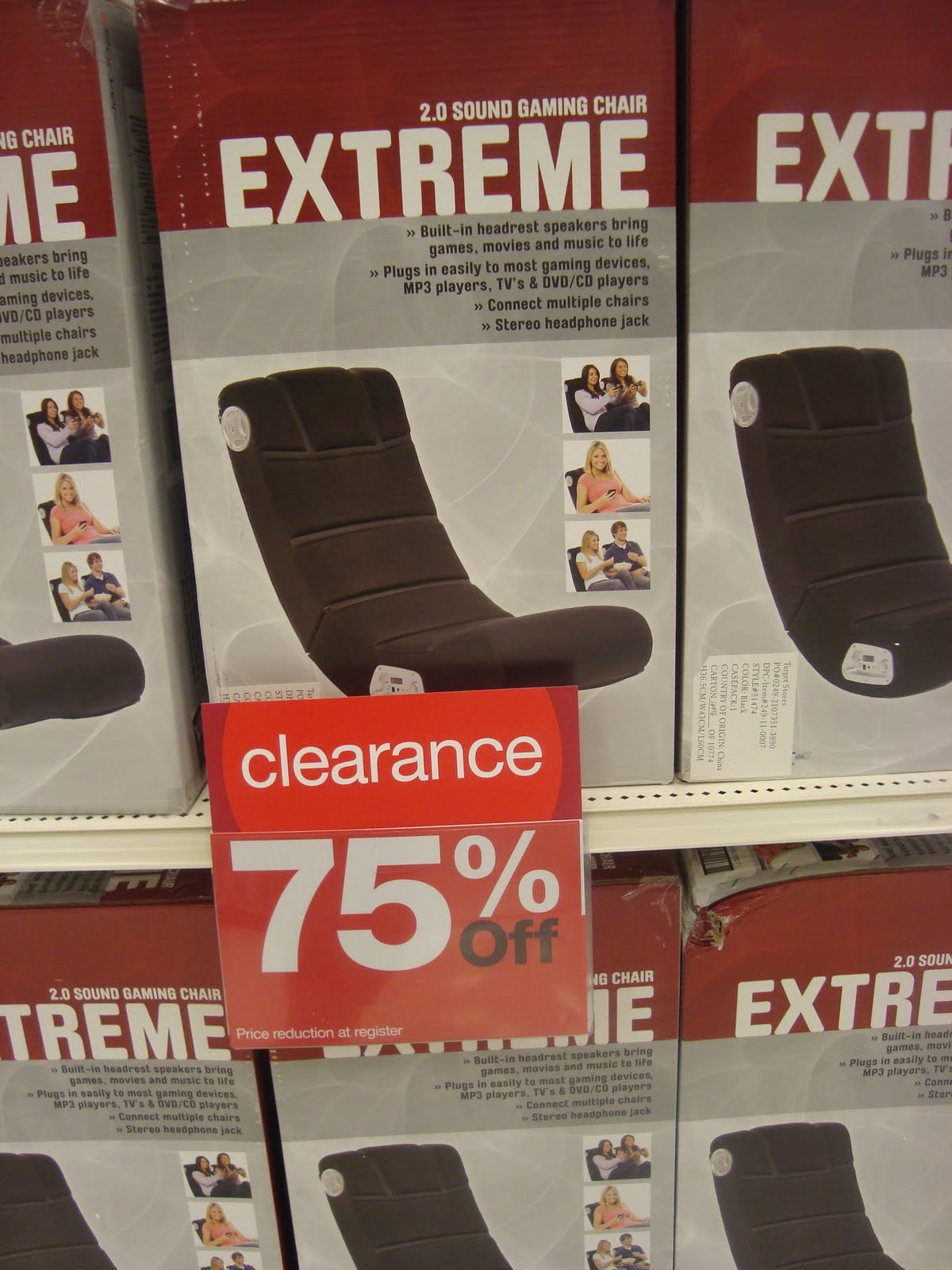 Tar Clearance Finds HOT Video Extreme Gaming Chair $14 99