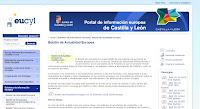 boletin De beca por Bruselas gracias a la Junta de Castilla y León