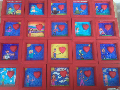 Crafts For Second Graders http://www.thatartistwoman.org/2010/02/framed-valentine-art.html