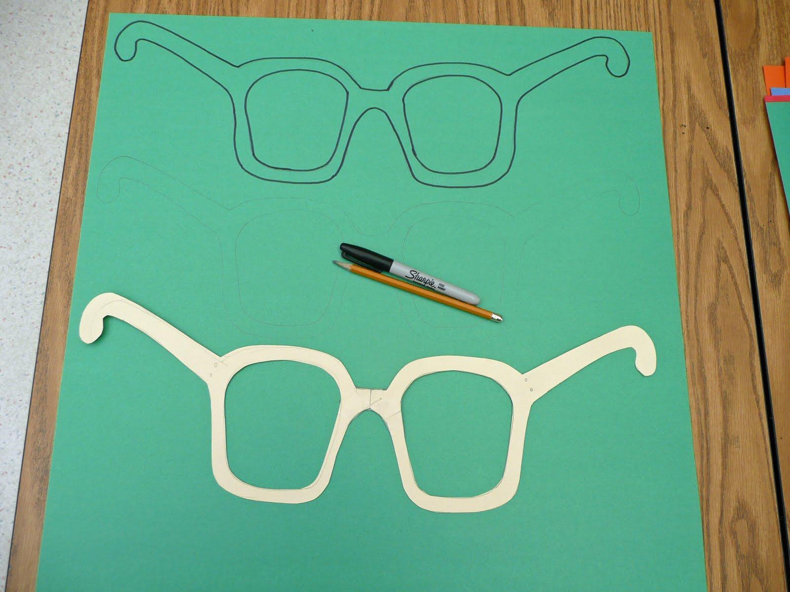 Как сделать очки из рук