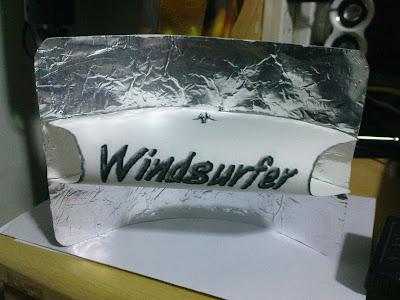 Windsurfer antenna template for Windsurfer antenna template