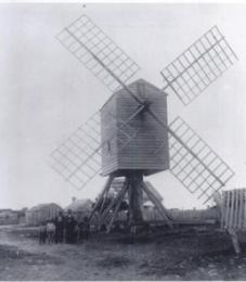 Windmill Near First Lab