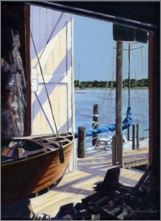 Afternoon at the Boatshop