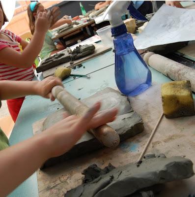 I bambini e l'argilla, Entrano nel vivo i laboratori didattici partiti il 30 giugno al Museo Villa Urania