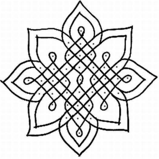 lotus mandala coloring page - eery elegance sweet sweet lotus