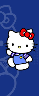 hay ! ada request ni tentang pembatas buku hello kitty warna biru . ya