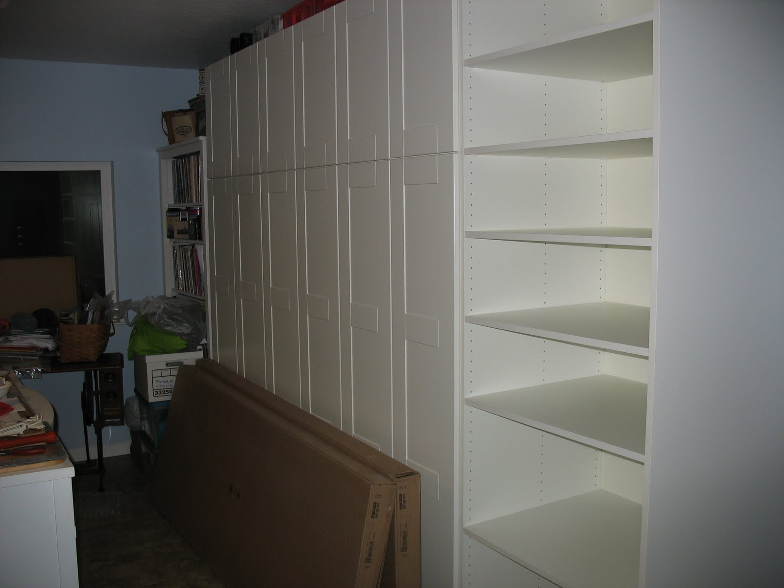 Sewing Room Storage Cabinets Connies Crafts Sewing Room Coming Along