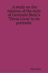 A study on the relation of the style of Gertrude Stein's 'Three Lives' to its portraits
