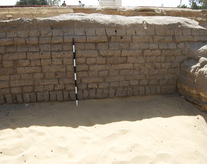 Ancient Egyptian Mud Brick House According To Ancient Egyptian