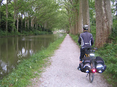 Cycling along the Canal du Midi 2010