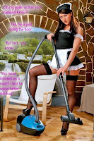 Forced feminization while doing the housework
