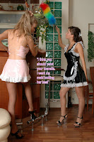 Forced feminized maid