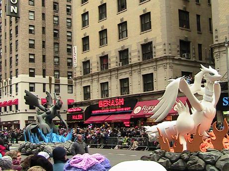 Dragon Floats Macy's Parade