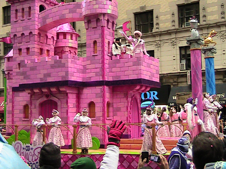 Macy's Thanksgiving Pink Float