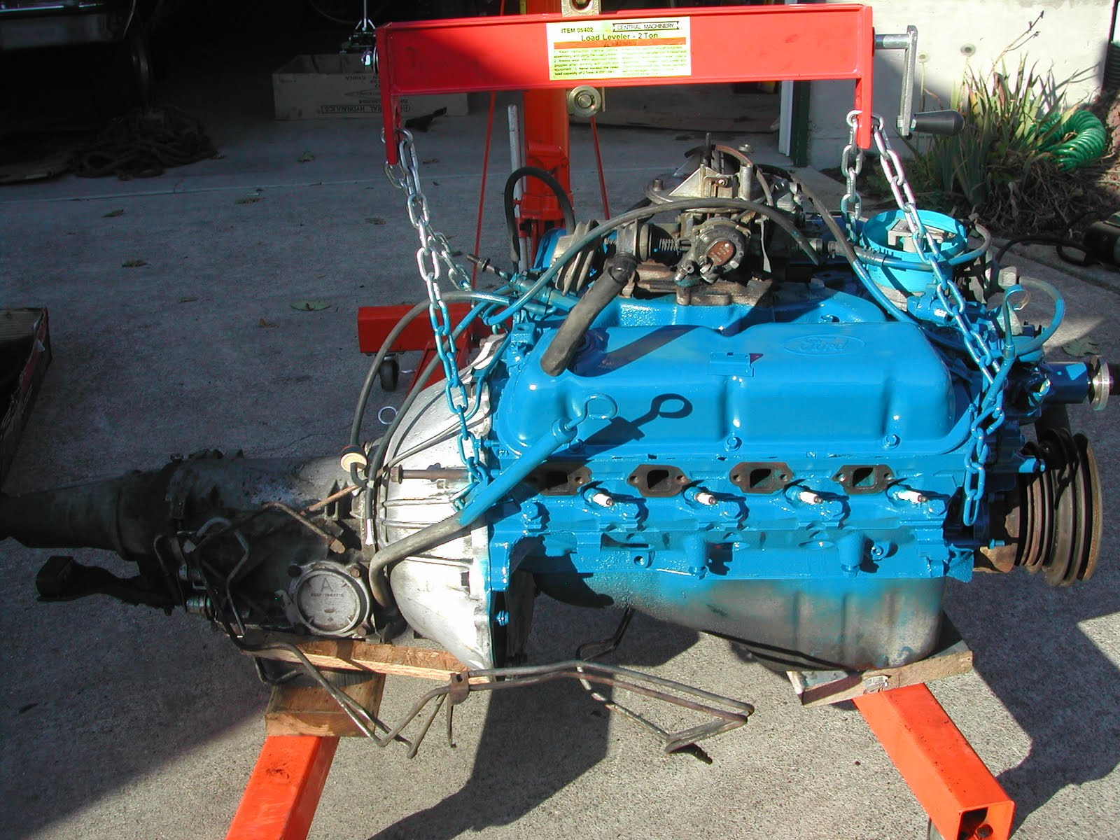 Dan 39 s blog the great bronco engine transplant small projects for Ford motor paint colors
