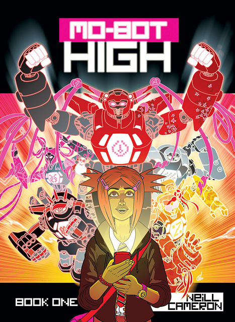 Cool Book Cover Zone : The book zone review mo bot high by neill cameron