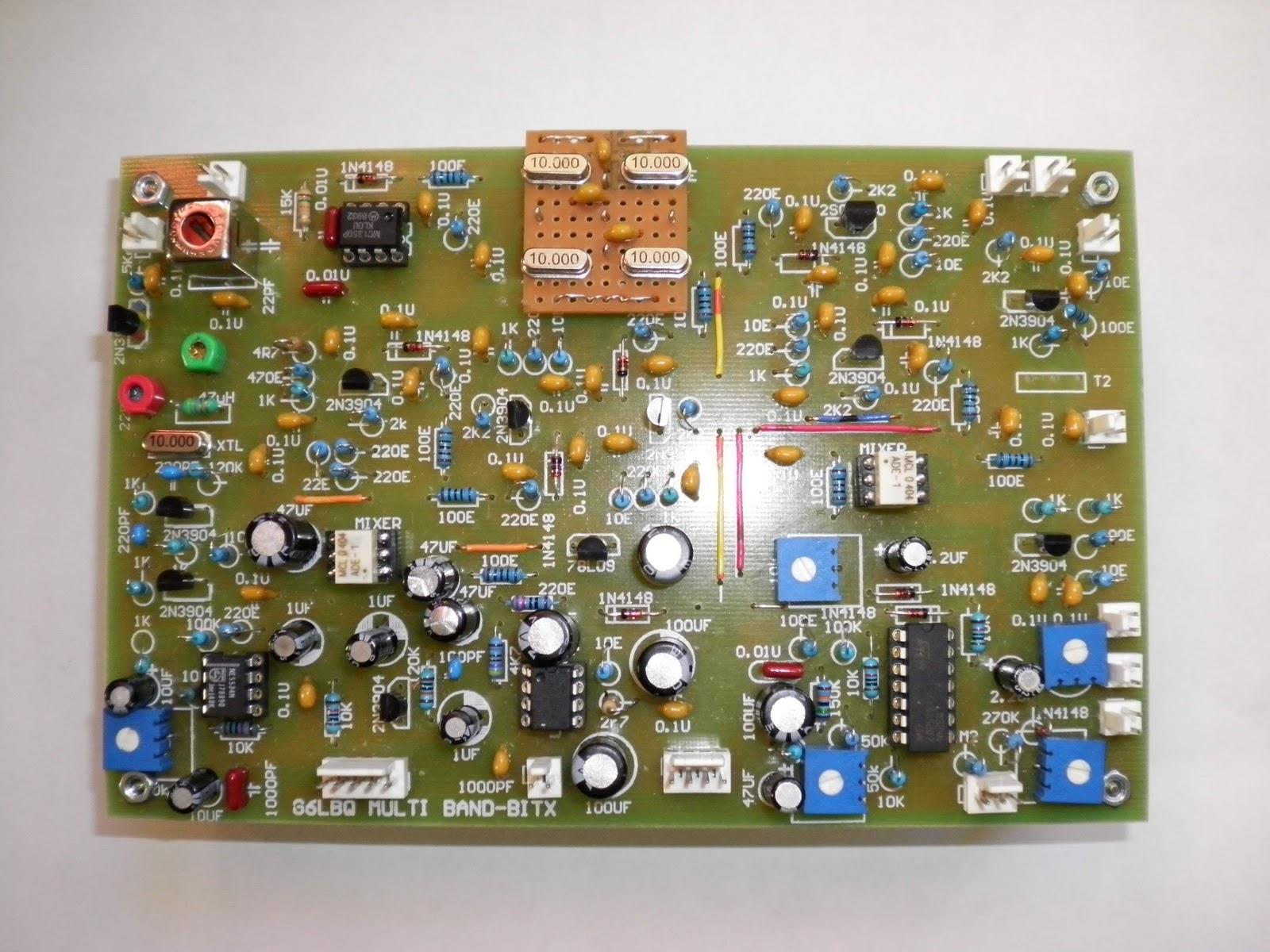 G6LBQ Bitx kit finished