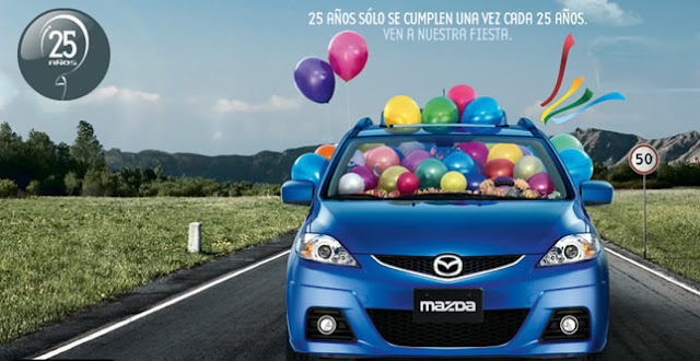 Mazda 25 Años