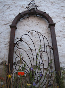 Gate To A Painted Over Heart
