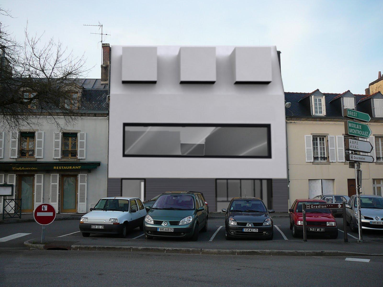 Maison de ville contemporaine architecte for Interieur maison moderne architecte