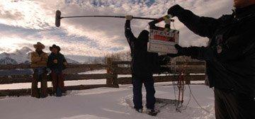 Shot in Telluride . . . . . . Bud Super Bowl Commercial