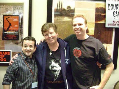 Susan with John Franklin and Courtney Gains