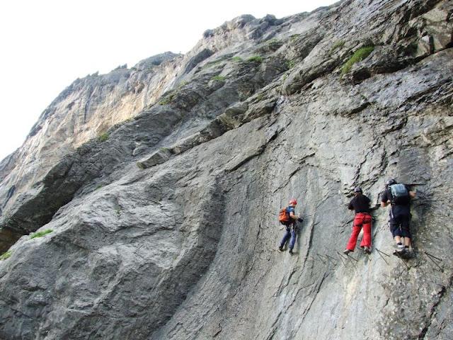 Klettersteig Engelberg : Eine andere seite von jens oldenburg klettersteig fürenwand