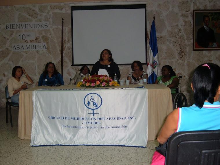 Foto de la Directiva saliente -2006-2009