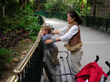 Keohi and Mommy at HK Zoo